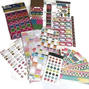 Huge lot of planner and calendar stickers